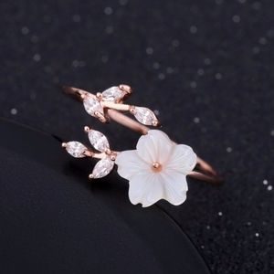 Jewelry - 🎈🎉 Rose Gold-plated Zircon Branches